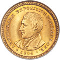 Commemorative Gold, 1904 G$1 Lewis and Clark Gold Dollar MS65 NGC....