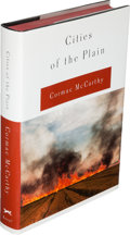 Books:Literature 1900-up, Cormac McCarthy. Two Copies of Cities of the Plain. NewYork: 1998. One limited signed edition, one uncorrected ... (Total:2 Items)
