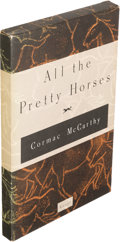 Books:Literature 1900-up, Cormac McCarthy. All the Pretty Horses. New York: 1992.First edition, boxed galley, signed....