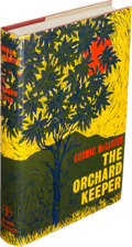 Books:Literature 1900-up, Cormac McCarthy. The Orchard Keeper. [London]: [1966]. FirstEnglish edition. ...