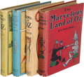 Books:Children's Books, L. Frank Baum. Group of Four Oz Books. Chicago: 1904-1909. Firsteditions.... (Total: 4 Items)