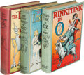 Books:Children's Books, L. Frank Baum. Group of Three Oz Books. Chicago: [1916]-[1918].First editions.... (Total: 3 Items)