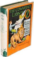 Books:Children's Books, [L. Frank Baum]. Ruth Plumly Thompson. The Cowardly Lion ofOz. Chicago: [1923]. First edition....