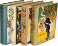 Books:Children's Books, [L. Frank Baum]. Group of Four Oz Books. Chicago: [1919]-[1922].First editions.... (Total: 4 Items)