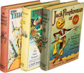 Books:Children's Books, [L. Frank Baum]. Ruth Plumly Thompson. Lot of Three Oz Books.Chicago: [1929-1931]. First editions, various states.. ... (Total:3 Items)