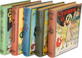 Books:Children's Books, [L. Frank Baum]. Ruth Plumly Thompson. Lot of Five Oz Books.Chicago: [1924-1928]. First editions, various states.... (Total: 5Items)