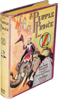 Books:Children's Books, [L. Frank Baum]. Ruth Plumly Thompson. The Purple Prince of Oz. Chicago: [1932]. First edition....