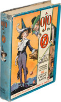 Books:Children's Books, [L. Frank Baum]. Ruth Plumly Thompson. Ojo in Oz. Chicago:[1933]. First edition....