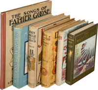 L. Frank Baum. Group of Six Non-Oz Books. Various publishers and dates. Five first editions (various issues) and one