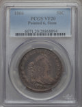 Early Half Dollars: , 1806 50C Pointed 6, Stem, VF20 PCGS. PCGS Population (104/814). NGCCensus: (57/680). Mintage: 839,576. CDN Wsl. Price for ...