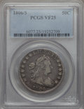 Early Half Dollars: , 1806/5 50C VF25 PCGS. PCGS Population (23/122). NGC Census: (9/67).Mintage: 839,576. . From The Ohio Valley Collection...