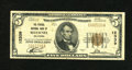 National Bank Notes:Oklahoma, Shawnee, OK - $5 1929 Ty. 1 The Federal NB Ch. # 12339. This Fine+ is one of five traced by Kelly from here in this ...