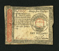 Colonial Notes:Continental Congress Issues, Continental Currency January 14, 1779 $65 Extremely Fine. Thisdenomination was produced only for this eleventh and final is...