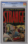 "Golden Age (1938-1955):Horror, Strange Fantasy 2 (#1) Davis Crippen (""D"" Copy) pedigree (Farrell,1952) CGC FN+ 6.5 Off-white pages. First issue. Jungle Pr..."