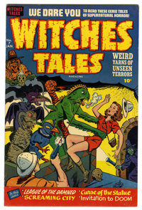 Witches Tales #7 Mile High pedigree (Harvey, 1952) Condition: VF+. Rudy Palais and Bob Powell art. Overstreet 2006 VF 8...