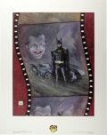 Original Comic Art:Miscellaneous, Bob Kane - Batman 2 Print Set 630/2500 (First Team Press, 1989). These two Batman prints come in their own protective envelo... (Total: 2 Item)