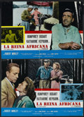 "Movie Posters:Adventure, The African Queen (United Artists, 1952). Italian Photobusta (2)(19.5"" X 26.5""). Adventure. Starring Humphrey Bogart, Katha...(Total: 2 Item)"