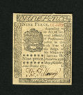 Colonial Notes:Pennsylvania, Pennsylvania October 25, 1775 9d Gem New. A spectacular gem exampleof this small change subtype that is rarely seen in this...