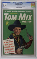 Golden Age (1938-1955):Western, Tom Mix Western #42 Crowley Copy pedigree (Fawcett, 1951) CGC NM 9.4 Off-white pages. Photo cover. Overstreet 2006 NM- 9.2 v...
