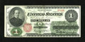 Fr. 16 $1 1862 Legal Tender Very Fine-Extremely Fine. A couple margin repairs so little to distract from the overall app...