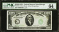 Small Size:Federal Reserve Notes, Fr. 2221-G $5,000 1934 Federal Reserve Note. PMG Choice Uncirculated 64.. ...