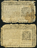Colonial Notes:New York, New York August 13, 1776 About Good.. ... (Total: 2 notes)