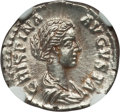 Ancients:Roman Imperial, Ancients: Crispina, wife of Commodus (Augusta, AD 178-188). AR denarius (3.32 gm)....