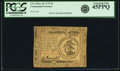 Colonial Notes:Continental Congress Issues, Continental Currency May 10, 1775 $3 Fr. CC-3. PCGS Extremely Fine45PPQ.. ...