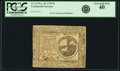 Colonial Notes:Continental Congress Issues, Continental Currency November 29, 1775 $2 Fr. CC-12. PCGS ExtremelyFine 40.. ...
