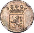 Netherlands East Indies, Netherlands East Indies: Holland Province 1/2 Duit 1757 MS65NGC,...