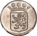Netherlands East Indies, Netherlands East Indies: Holland. Province silver Duit 1753 MS65NGC,...