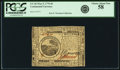 Colonial Notes:Continental Congress Issues, Continental Currency May 9, 1776 $6 Fr. CC-36. PCGS Choice AboutNew 58.. ...