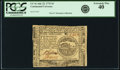 Colonial Notes:Continental Congress Issues, Continental Currency July 22, 1776 $4 Fr. CC-41. PCGS ExtremelyFine 40.. ...