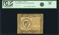 Colonial Notes:Continental Congress Issues, Continental Currency April 11, 1778 $8 Yorktown Issue Fr. CC-75.PCGS Very Fine 35.. ...