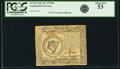 Continental Currency September 26, 1778 $8 Fr. CC-81. PCGS About New 53