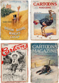 Magazines:Miscellaneous, Cartoons Magazine and Others Group of 21 (Various Publishers,1908-21) Condition: Average FR/GD.... (Total: 21 Items)