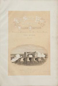 William Simpson. The Seat of War in the East, First Series [and:] Second Series</
