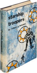 Books:Science Fiction & Fantasy, Robert A. Heinlein. Starship Troopers. New York: G. P. Putnam's Sons, [1959]. First edition, signed by the aut...