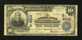 National Bank Notes:Kentucky, Ashland, KY - $10 1902 Plain Back Fr. 628 The Ashland NB Ch. #(S)2010. ...