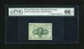 Fractional Currency:First Issue, Fr. 1242 10c First Issue PMG Gem Uncirculated 66 EPQ....