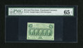 Fractional Currency:First Issue, Fr. 1312 50c First Issue PMG Gem Uncirculated 65 EPQ....