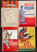 Books:Americana & American History, [Larry McMurtry]. Lot of Approximately 100 Cowboy Reference Books. [Various: circa 1940s and later]. From the Western Amer...