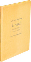 Books:Literature 1900-up, Tennessee Williams. Grand. New York: 1964. First edition,limited and signed....