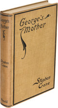 Books:Literature 1900-up, Stephen Crane. George's Mother. New York: 1896. First edition.. ...