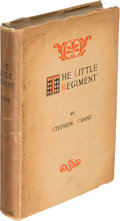 Books:Literature Pre-1900, Stephen Crane. The Little Regiment. New York: 1896. Firstedition....