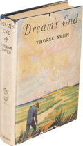 Books:Literature 1900-up, Thorne Smith. Dream's End. New York: 1927. First edition....