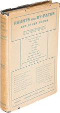 Books:Literature 1900-up, J. Thorne Smith, Jr. Haunts and By-Paths. New York: [1919].First edition.. ...