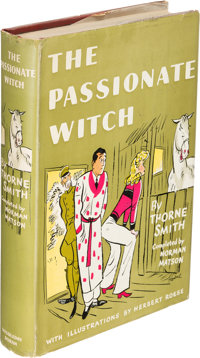Thorne Smith. The Passionate Witch. Garden City: 1941. First edition