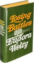 Books:Literature 1900-up, Eudora Welty. Losing Battles. New York: [1970]. Firstedition, inscribed by the author....