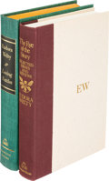 Books:Literature 1900-up, Eudora Welty. Pair of Signed-Limited Issues. New York: [1970-1977].First editions.... (Total: 2 Items)